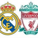 Real Madrid vs Liverpool live score news