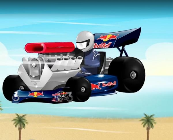 Red Bull Kart Fighter 3 Unbeaten Tracks racing game release