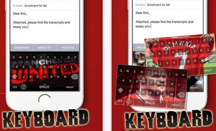 Red Devil keyboard app b