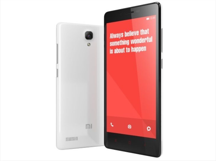 Redmi Note vs Lumia 535 b