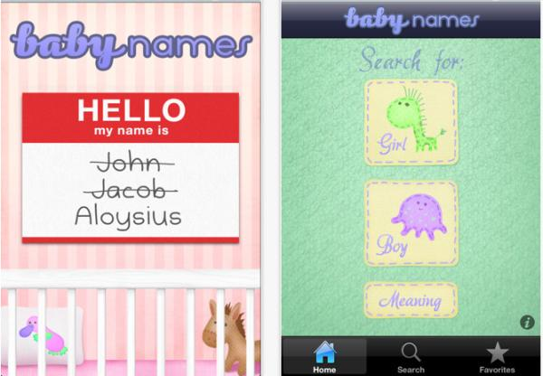 Royal Baby due and apps that help with name choices