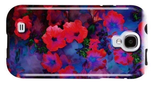 Ruby Blue Vine case for SGS4