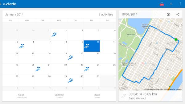 Runtastic Running & Fitness Android app gets mixed response