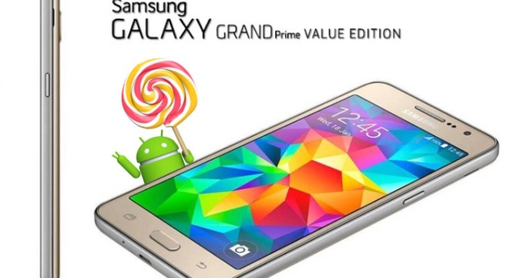 SAmsung Galaxy Grand Prime VE Android 5.1.1 update