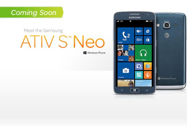 Samsung ATIV S Neo gets AT&T release date