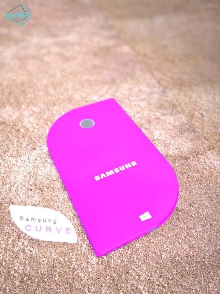 Samsung Curve phone design c
