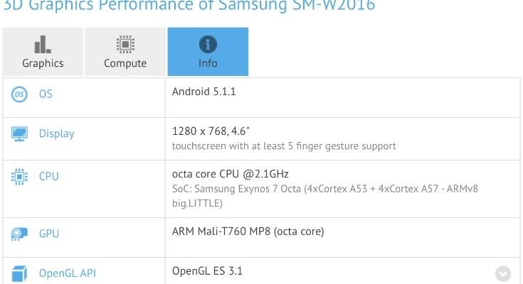 Samsung Galaxy Golden 3 appears in specs leak