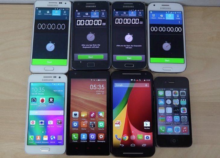 Samsung Galaxy A3 vs Moto G vs Redmi 1S