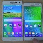 Samsung Galaxy A5 vs Galaxy Alpha