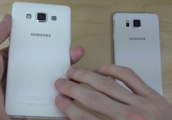 Samsung Galaxy A5 vs Galaxy Alpha b