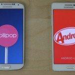 Samsung Galaxy A5 vs S4 vs Xiaomi Mi4 b
