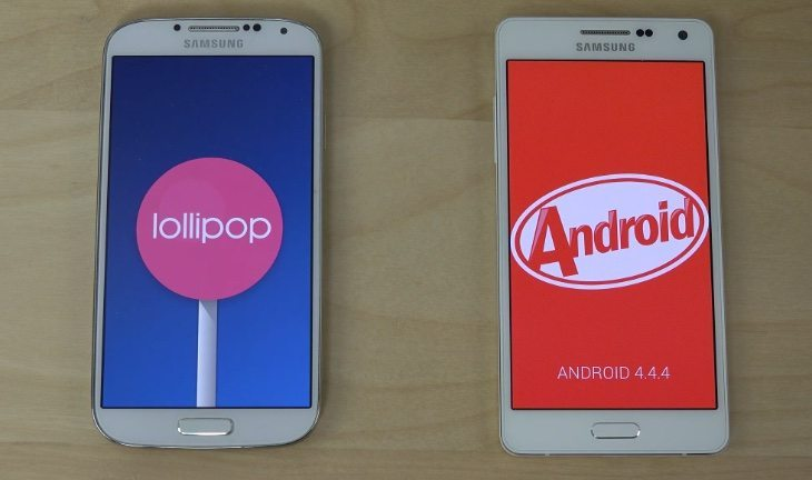 Samsung Galaxy A5 vs Galaxy S4 vs Xiaomi Mi4 app speed tests