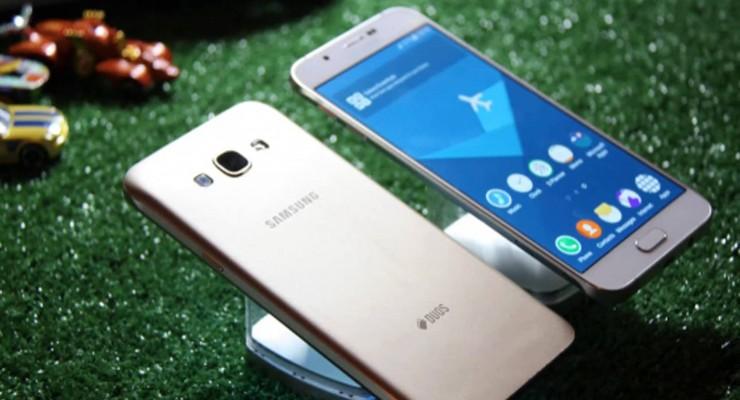 Samsung Galaxy A8 2016 Surfaces on GFXBench