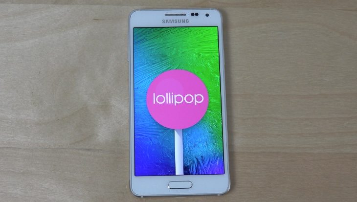Samsung Galaxy Alpha Lollipop review
