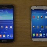 Samsung Galaxy Grand 2 vs Galaxy S4 side by side comparison