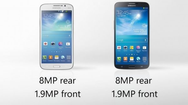 Samsung Galaxy Mega 5.8, 6.3 specs in visual preview pic 2