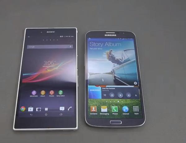 Samsung Galaxy Mega 6.3 review vs Sony Xperia Z Ultra
