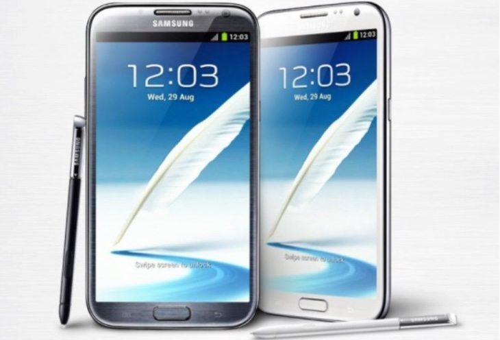 Samsung Galaxy Note 2 affirmation of Android Lollipop update