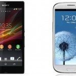 Samsung Galaxy Note 2 dwarfed by Xperia Z Ultra