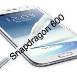 Samsung Galaxy Note 2 refresh with Snapdragon 600