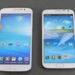 Samsung Galaxy Note 2 vs Mega 5.8 user experience video