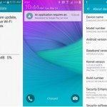 Samsung Galaxy Note 3 and 4 update
