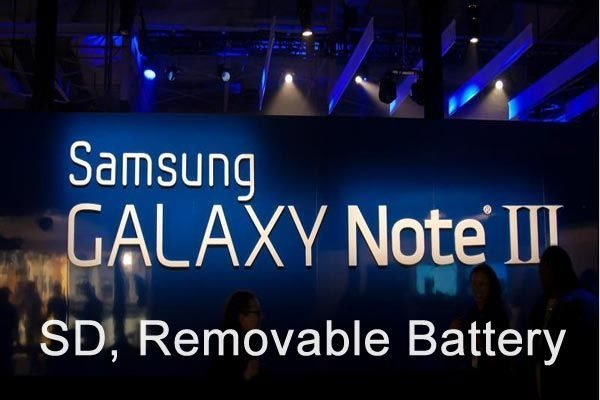 Samsung Galaxy Note 3 determination of rivalry