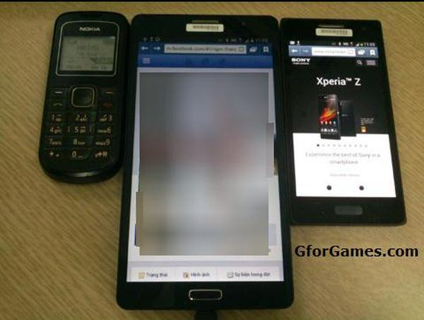 Samsung Galaxy Note 3 in fresh image that shows size ...