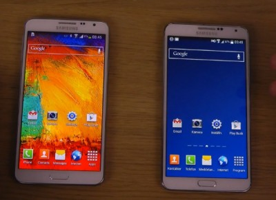 Samsung Galaxy Note 3 vs Galaxy Note 3 Neo comparison look