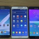 Samsung Galaxy Note 4 vs Note 3 vs Note 2 boot up speed