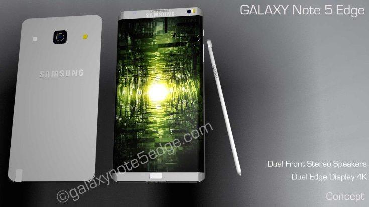 Samsung Galaxy Note 5 Edge design b