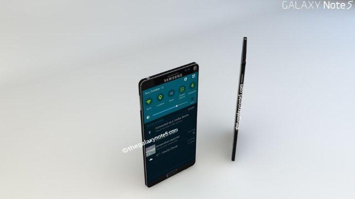 Samsung Galaxy Note 5 concept b