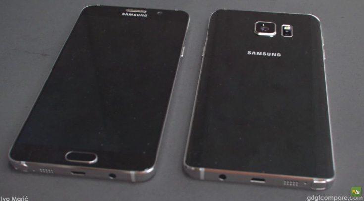 Samsung Galaxy Note 5 concept c
