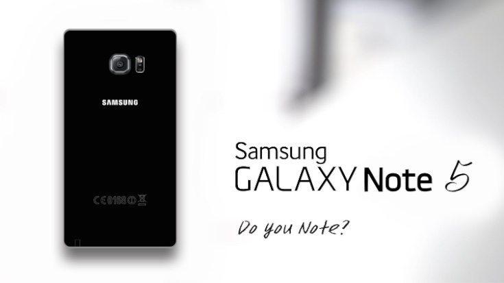 Samsung Galaxy Note 5 idea b