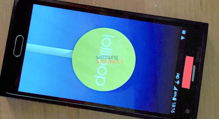 Samsung Galaxy Note 5 prototype image