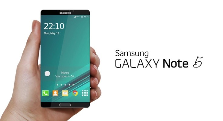 Samsung Galaxy Note 5 vision