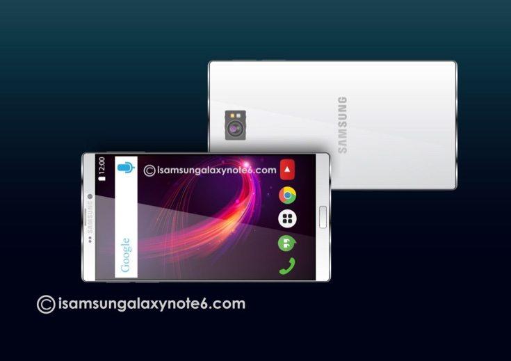 Samsung Galaxy Note 6 concept b