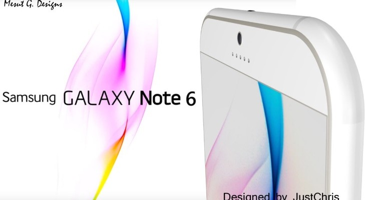 Samsung Galaxy Note 6 design b