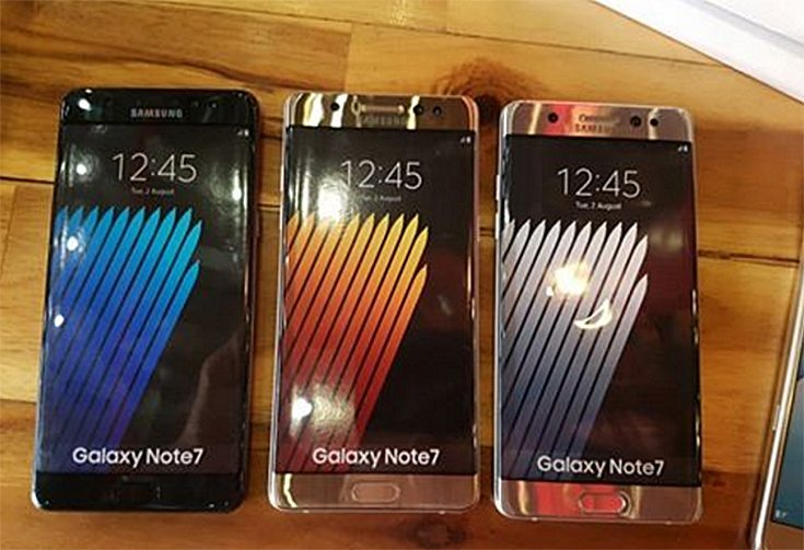 Samsung Galaxy Note 7 Unboxed