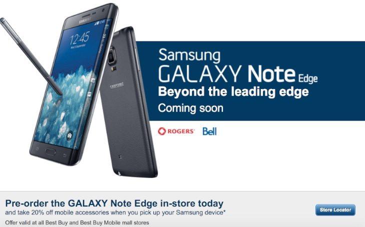Samsung Galaxy Note Edge Canada b