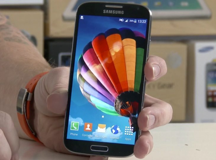 how to find software build on galaxy s4