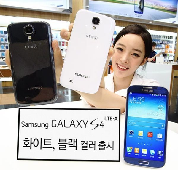 Samsung Galaxy S4 LTE-A with new boring colors