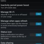 Samsung Galaxy S4, Nexus 4 battery life increases via app pic 8