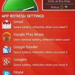Samsung Galaxy S4, Nexus 4 battery life increases via app pic 9