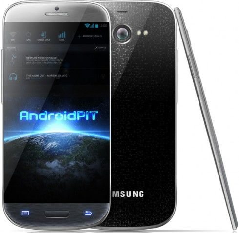 Samsung Galaxy S4 design 1
