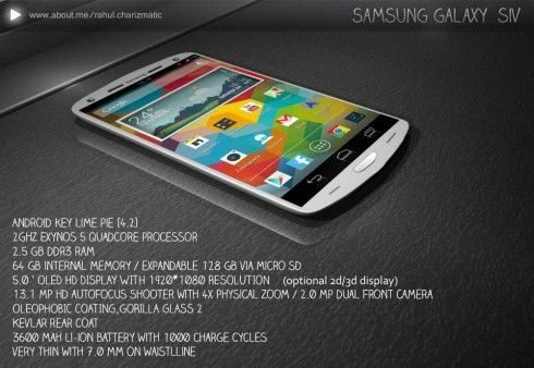 Samsung Galaxy S4 design 10