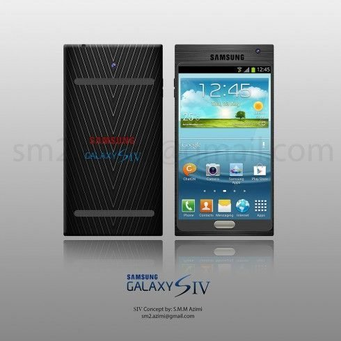 Samsung Galaxy S4 design 3