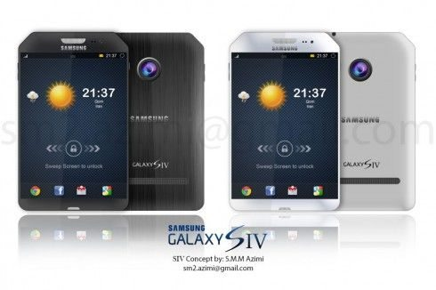 Samsung Galaxy S4 design 4