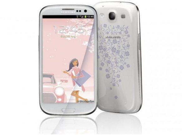 Samsung Galaxy S4 mini La Fleur Edition missing Thanksgiving