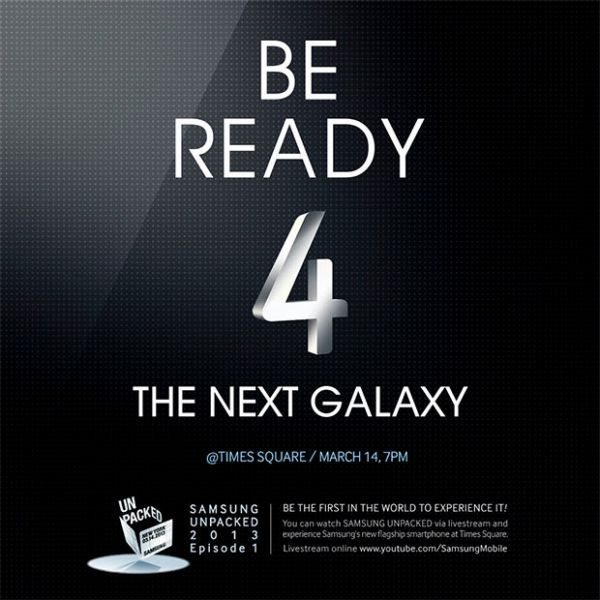 Samsung Galaxy S4 public marketing strategy & livestream